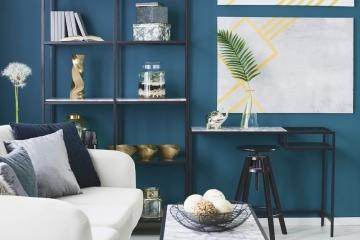 Bleu canard : la couleur tendance du moment