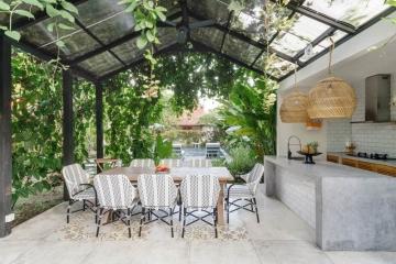 Comment agencer une cuisine en extérieur ?