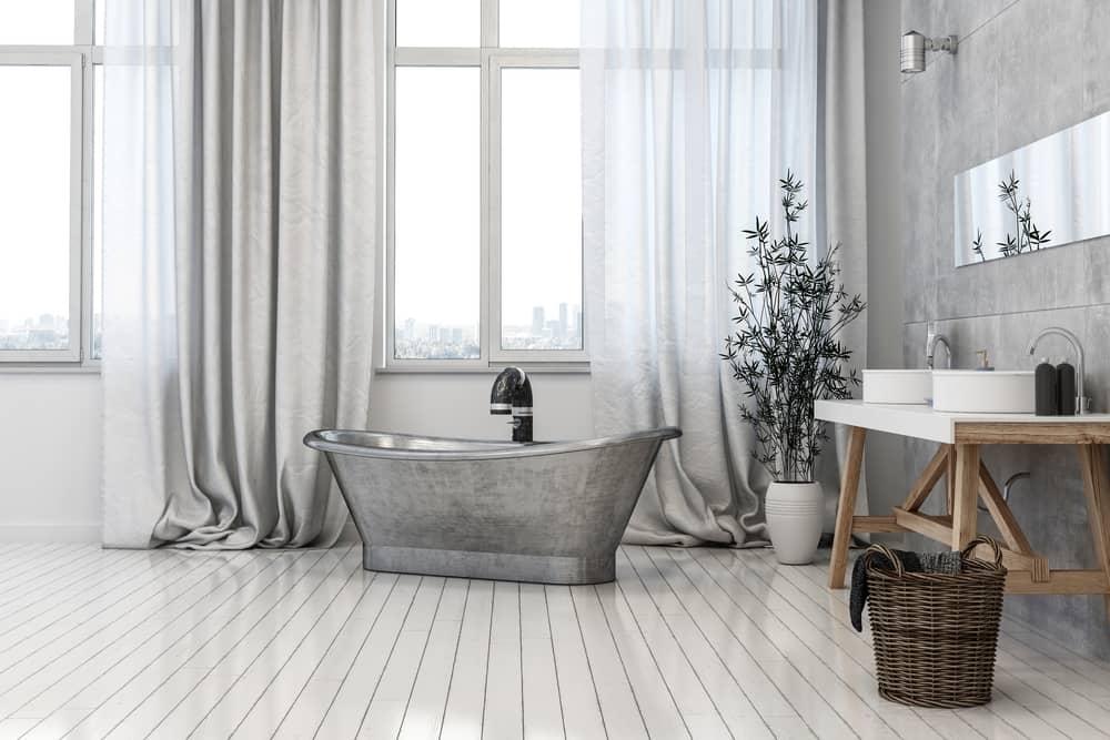 Comment apporter une touche industrielle dans une salle de bain