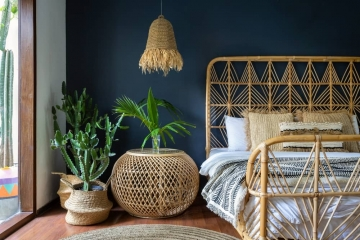 La tendance des meubles en rotin