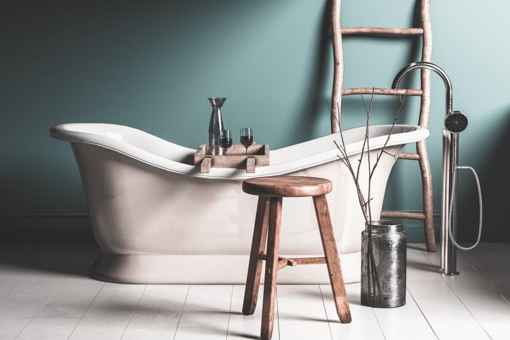 Le carrelage rétro pour magnifier votre salle de bains