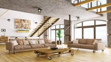 Les meubles de mise dans une déco industrielle