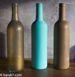 Les tutos industriels n°1 – Peindre une bouteille en verre