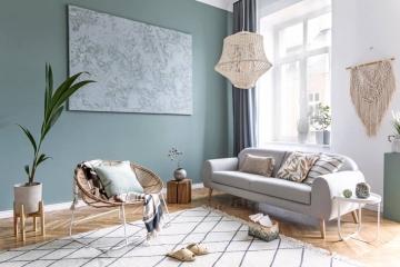 Quelle peinture pour le salon en 2021?