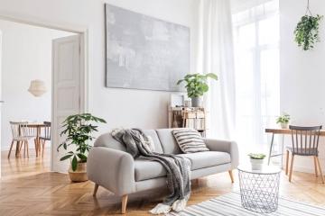 Un look scandinave pour votre salon
